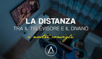 Distanza tra televisore e divano, come calcolarla