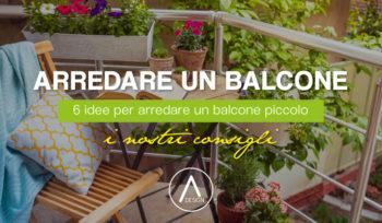 Come arredare un balcone piccolo, 6 idee