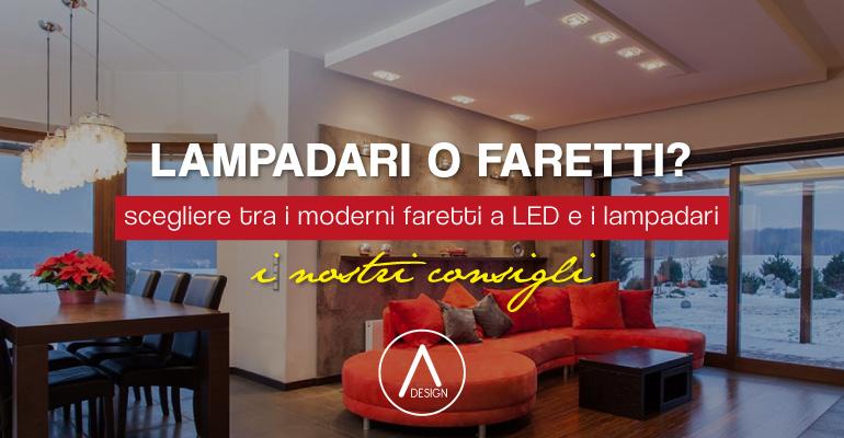 Illuminazione per la casa: meglio lampadari a soffitto o faretti a