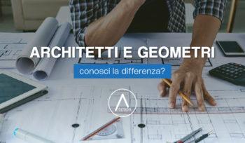 Le differenze tra geometri e architetti