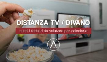 Distanza televisore divano come calcolarla