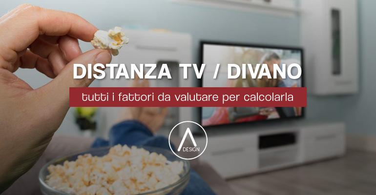 Distanza televisore e divano tutti i fattori da valutare per calcolarla adesign - Distanza tv divano tabella ...
